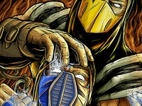 "Mortal Kombat Print - ""Vengeance Is Mine"""