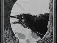 Nevermore Shirt for Seventh.Ink's Haunted Collection VI