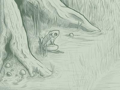 WIP Frog Detail