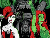 Batman: Sirens Screen Print