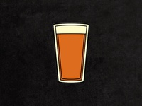 IPA Pint Enamel Pin