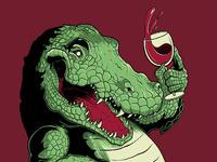Kickstarter art croc