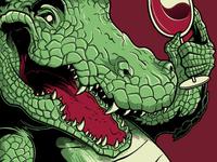 Party Croc Detail