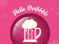 Hello Dribbble ..!