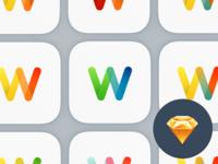 W App Icon