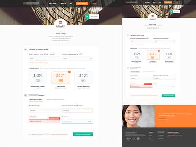 Payment Form testimonial web webdesign mastercard visa payment form