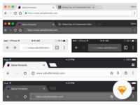 Chrome Browser UI