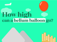 How high can a Helium Balloon fly?