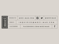 Mozi Footer