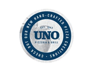 Uno Pizza Box Sticker