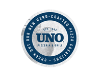 Uno Pizza Box Sticker