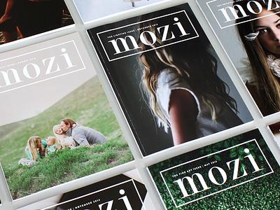 Mozi Covers cover logo masthead photography editorial mozi magazine publications