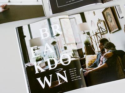 Mozi Layout mozi photography typography article layout publication magazine