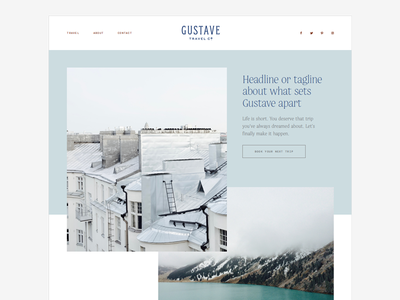 Gustave Website co company european gustave travel website