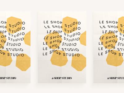 Le Shop Studio Poster
