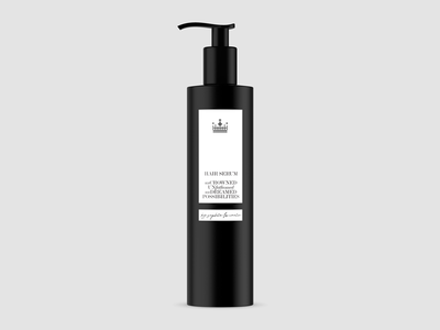 Hair Serum self care black  white black mockup packaging bottle mockup bottle label bottle hair salon beauty skincare hair care