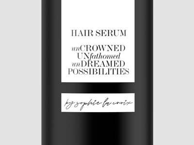 Packaging Type Close-up layout type daily typographer typography conditioner shampoo hair serum hair care packaging mockup packaging design packaging