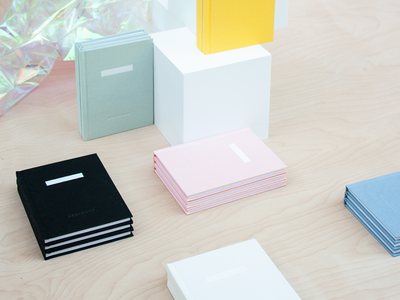 Letterfolk Keepsake book art bookdesign book pastel color cover art cover design book binding binding notebook