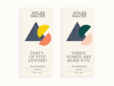 Atelier Saucier Packaging