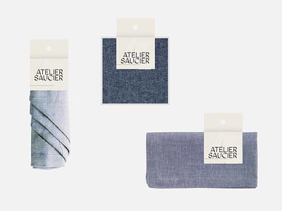 Napkin Packaging logo branding hangtag print paper napkin packaging