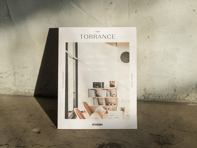 The Torrance Newsprint lookbook editorial publication newspaper logo branding graphicdesign layout newsprint
