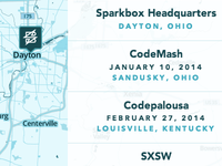 Sparkbox Map