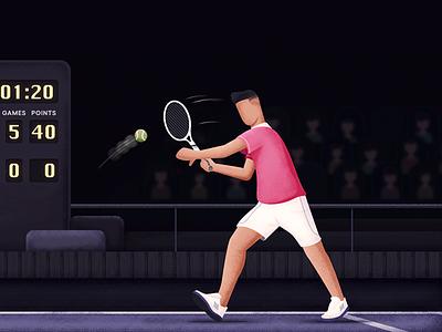 We'll always 'love' you. vector love stipple sports winner photoshop illustration grasshopper tennis comparison blog alternative