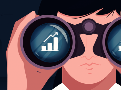 10 small business trends to watch out for in 2020 graphic binocular smallbusiness 2020 watch trends business freshworks flat design vector blog design illustration
