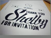 Thank you, Shelby Singleton