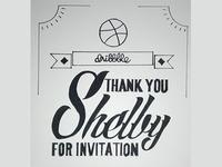 Thank you, Shelby Singleton - Portrait