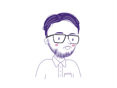 Illustration of a friend