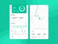 Health Tracking App UI