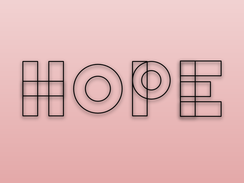Lettering for Dribbble weekly warm up weekly ui weekly warm-up weekly challenge textures text type hope weekly dribbble best shot dribbble playoff typogaphy typeface typo flat doodle design illustration