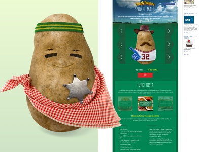 2015 Spud O Matic facebook design
