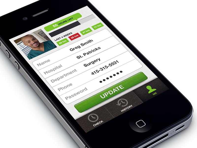 Jora App mobile ios ui design mobile design ux design medical design