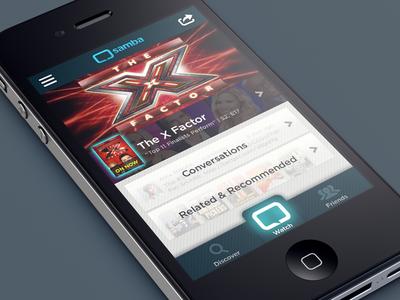 2nd screen app