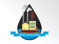 Diesel Power Barge