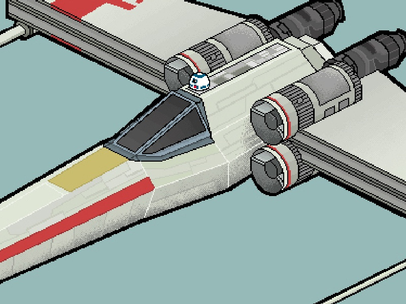 X Wing By Charlie Coralejo On Dribbble