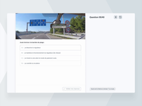 🚦Training interface chatbot quizz success training ux ui