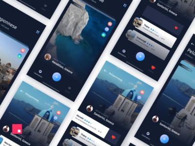 Studio Jam - Travel App concept