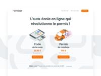 Ornikar.com  • New website 🐣