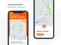 🧐 Exploration : Meeting points suggestions for driving lessons