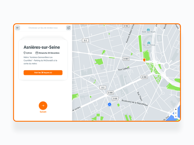 Shipping day 🤩 lessons driving school map cards ux ui