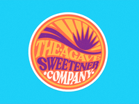 Agave Sweetener Co. Stickers