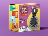 Packaging Design to Dolce Gusto