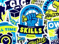 QuikWork Badges