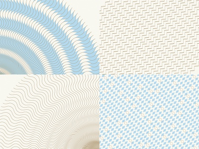 Patterns pastel colors blue wave geometric design colors vectors background pattern