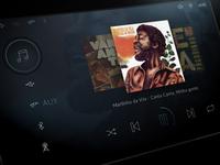 Car Dashboard - Music