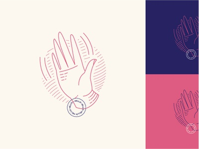 Hello there! Back in the game! design color iconography ui illustraiton hand hello colors
