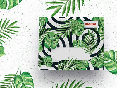 Box Illustration colors nature illustrator printing design delivery boxes design illustration